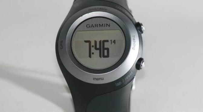 Forerunner 405 im Test – Devolutionierte GPS-Uhr für Biker und Läufer