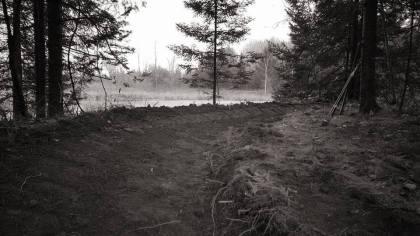 New Beaver Pond Trail - Photo: B.Brassington