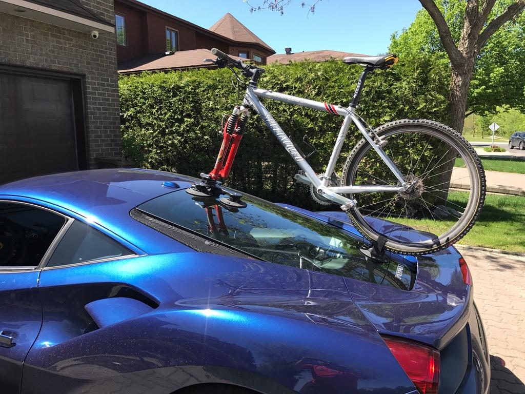 audi tt bike rack no tow bar