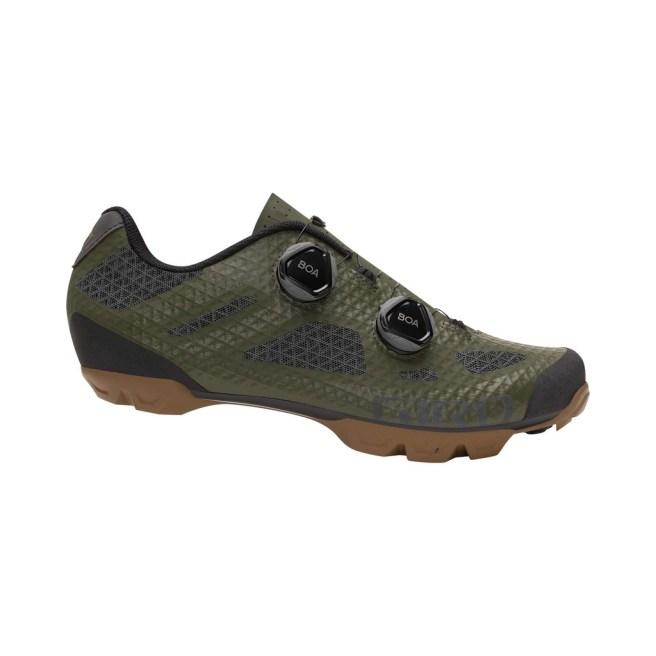 giro-sector-mens-mtn-bike-shoe-black-dark-shadow-olive-gum-profile