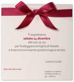 l'invito di Lucia