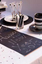"""35. La tavola del buffet di Capodanno di Rita: """"Stardust party"""""""