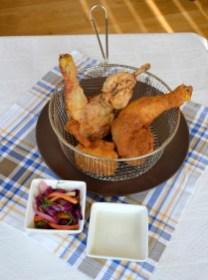 16.Pollo fritto con salsa al rafano di Cristina