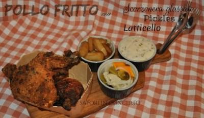 4.Pollo fritto con salsa al latticello di Antonella