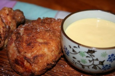 91.Polo fritto con maionese alla senape di Antonella