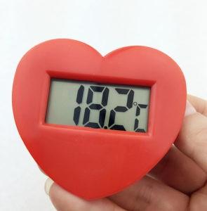 100pcs-lot-By-DHL-FEDEX-Heart-shaped-Embedded-font-b-Temperature-b-font-font-b-Indicator
