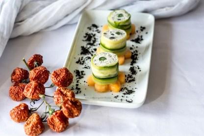 12.Roll di pesce, verdura e frutta di Tamara