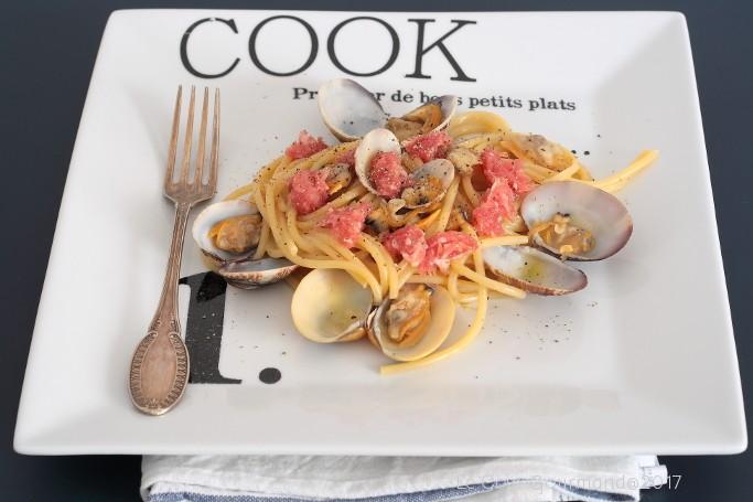 78. Spaghetti vongole e salsiccia di Bra di Giorgia