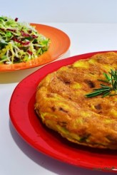 103. tortilla con insalata di Susy May