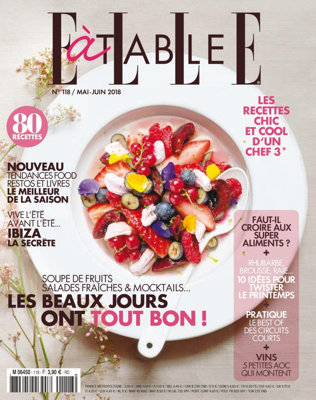Elle à Table No. 118 - Mai/Juin 2018