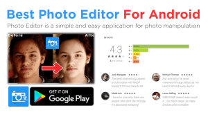 Best photo editor for android phone
