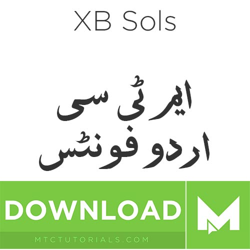 Download Urdu fonts XB Sols