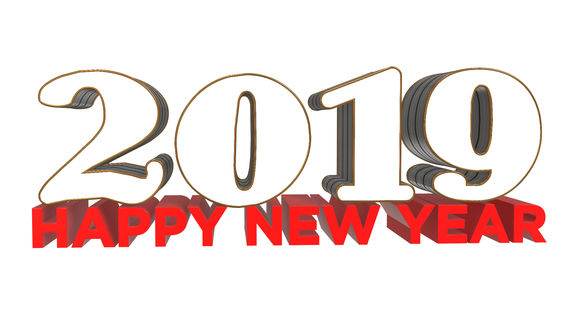 Download free Happy New Year PNG Files