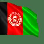 Afghanistan waving flag PNG