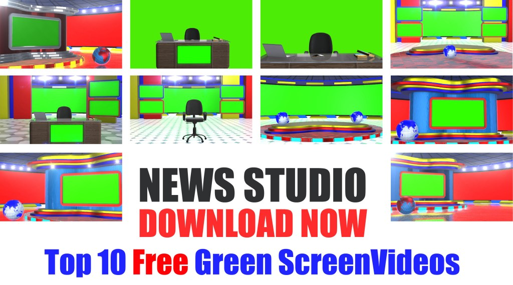 Download News Studio Desk Free PNG Images and Tenplates