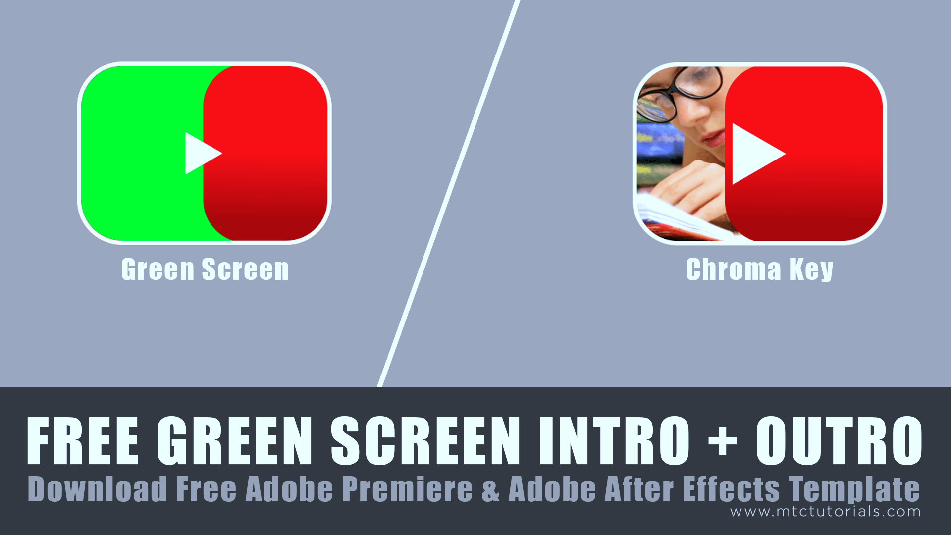 Download youtube intro green screen video, adobe after effects template and premiere template by mtc tutorials