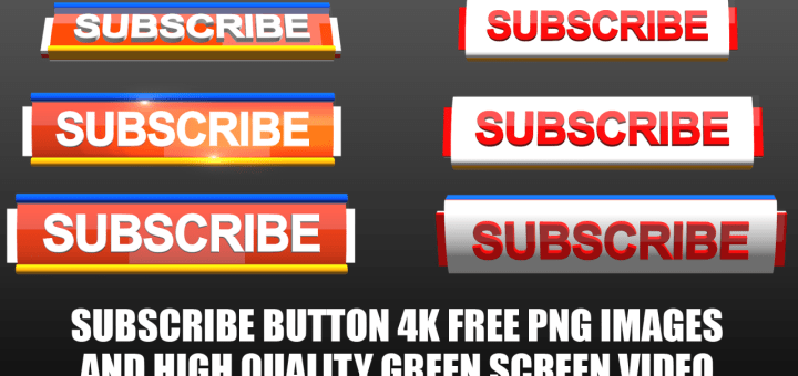 Subscribe buttons full pack