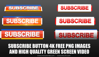 Subscribe Buttons Templates For FREE [PSD], [AI], [PNG], [MP4]