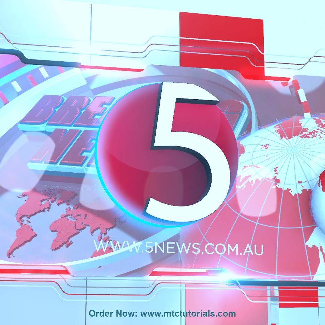 5 News by mtc tutorials and mtc vfx create online logo order now