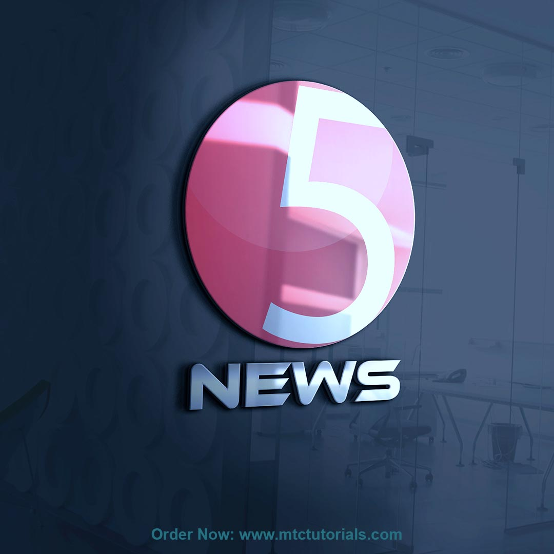 5 News logoby mtc tutorials and mtc vfx create online logo order now
