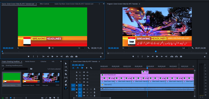 Download News Adobe Premiere Templates Free By MTC Tutorials