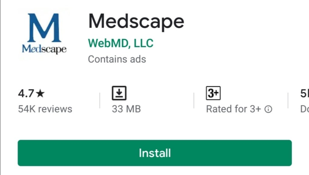 Medscape free android app download