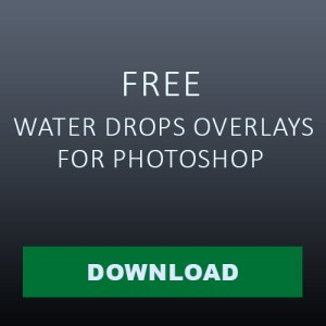 download Water Drops Overlays