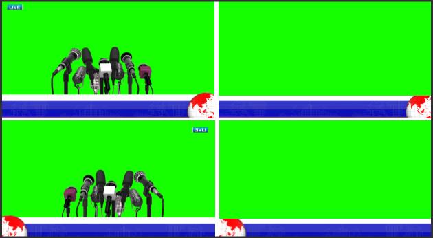 free lower third HD green screen