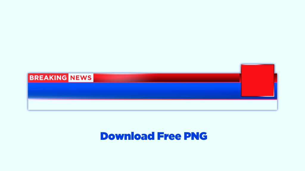 Download lower third for news channels free png transparent