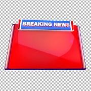 Braking news bumper png