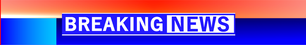 Breaking news lower third png