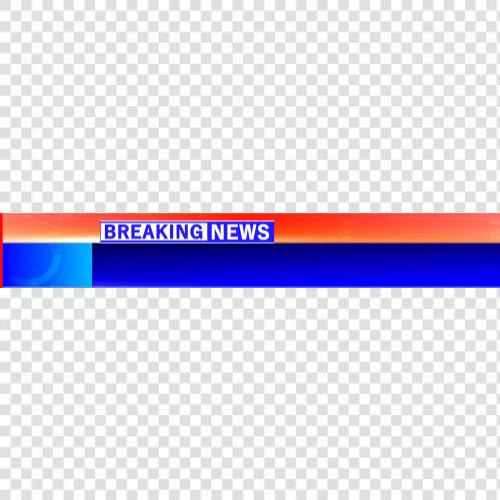 Breaking news lowerthird Templates png