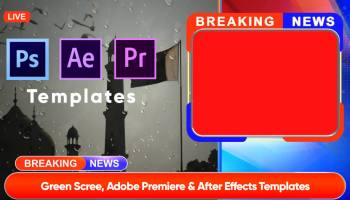Download free breaking news Templates kinemaster