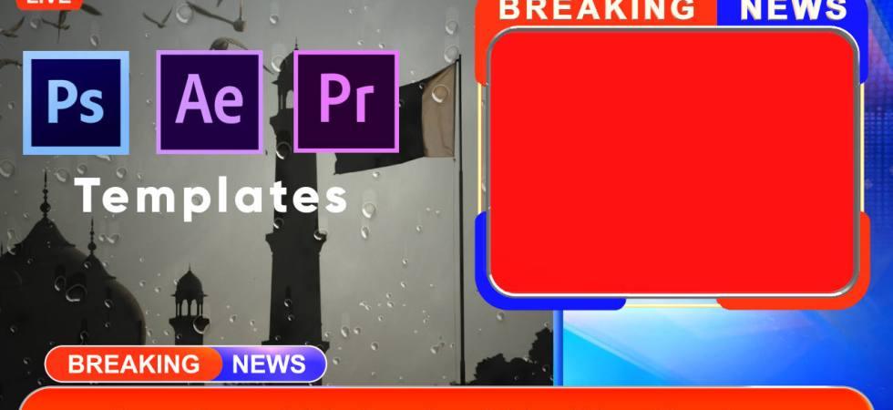 Download free breaking news Templates kinemaster