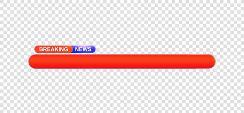 Lowerthird breaking news png