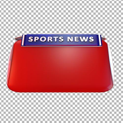 Sports news no text png bumper