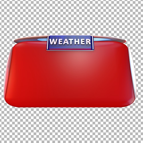 Weather news no text png template