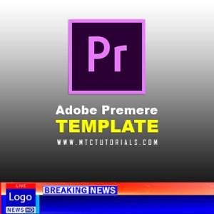 breaking news lowerthird adobe premiere template
