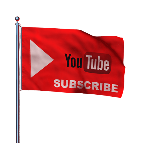 youtube channel flag png