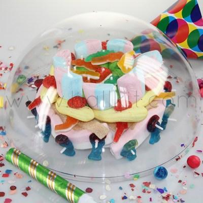 Boule transparente contact alimentaire anniversaire