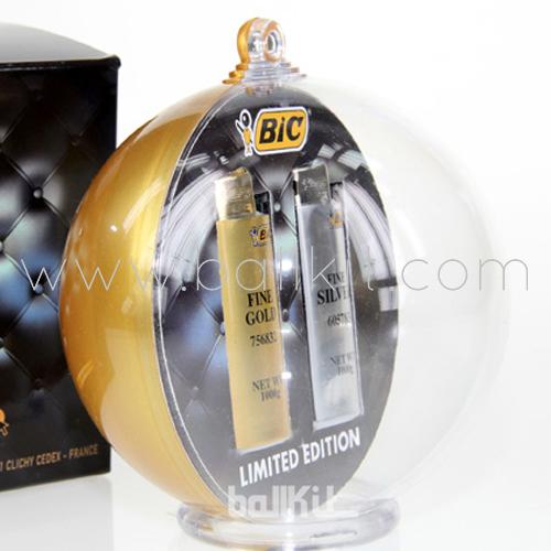 Boule bicole pour packaging personnalisé de l'édition limitée des briquets de BIC