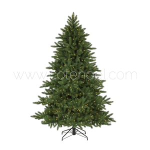 Sapin artificiel standard ignifugé avec illuminations LED