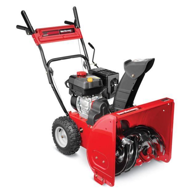 "yard machines 22"" twostage snow thrower  31a63bd700  mtd"