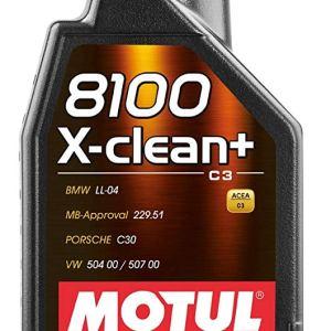 olio motore motul 8100 xclean + x-clean xclean+ 5w30 sintetico mondotuning mtelaborazioni