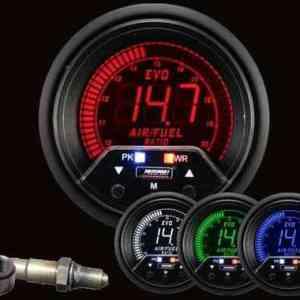 Manometro Carburazione + Allarme - Prosport Serie Evo - 60mm