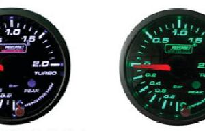 Manometro Pressione Turbo Analogico + Allarme - Prosport Serie Premium - 52mm