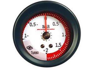 Manometro Pressione Turbo Analogico a Diffusione 52mm - Vari Colori