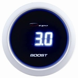 Manometro Pressione Turbo Digitale - Depo Racing - 52mm