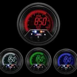 Manometro Temperatura Gas di Scarico Digitale - Prosport Serie Evo Premium - 60mm