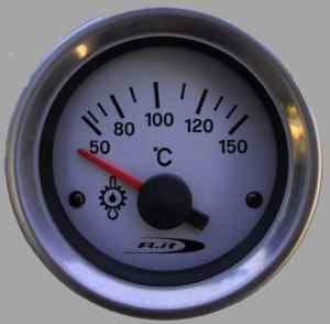 Manometro Temperatura Olio Analogico a Diffusione - Road Italia - diam. 52mm